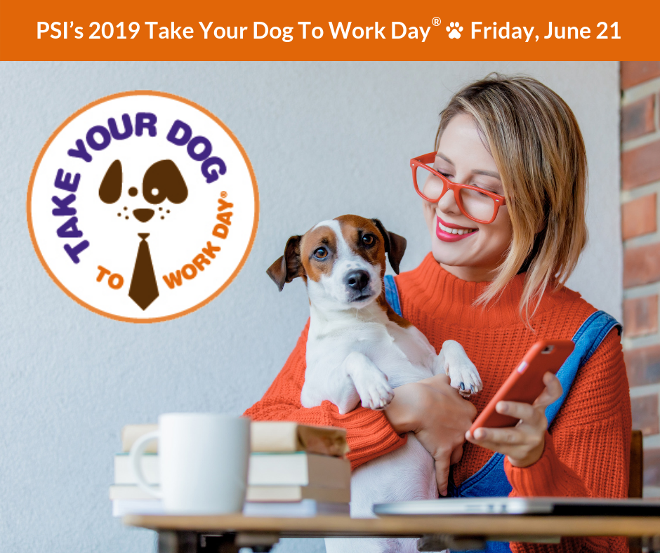 Image result for take pet to work day 2019