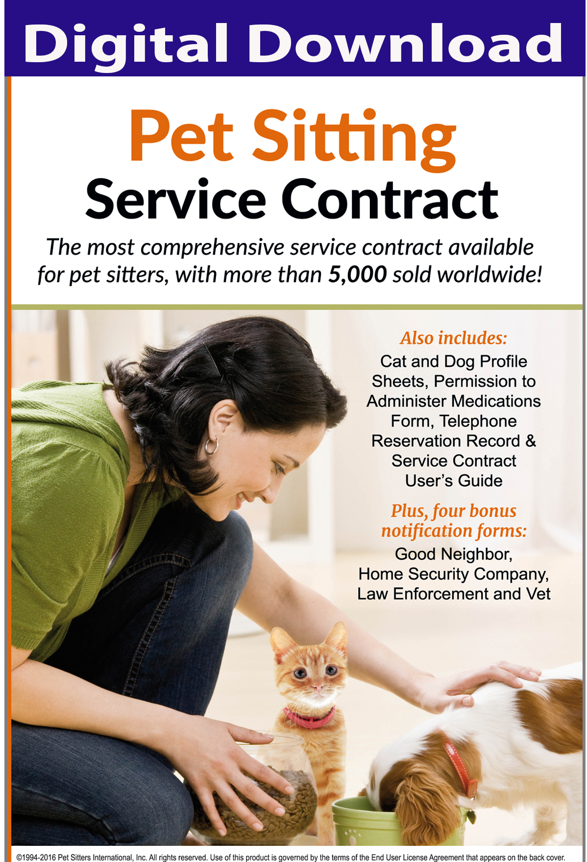 pet sitting contract pet sitting services agreement