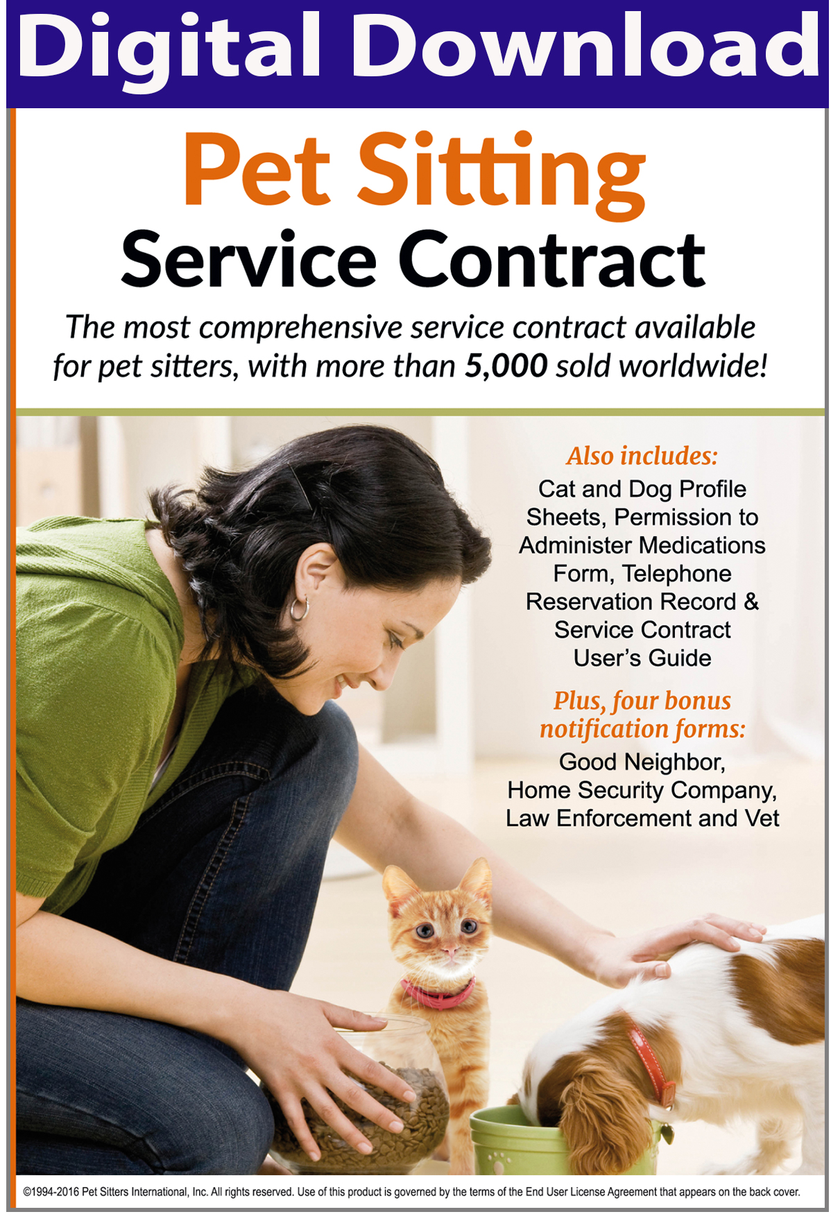 join pet sitters international with this special offer