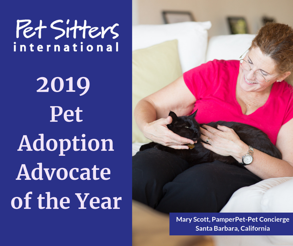 2019 Pet Adoption Advocate of the Year | Pet Sitters