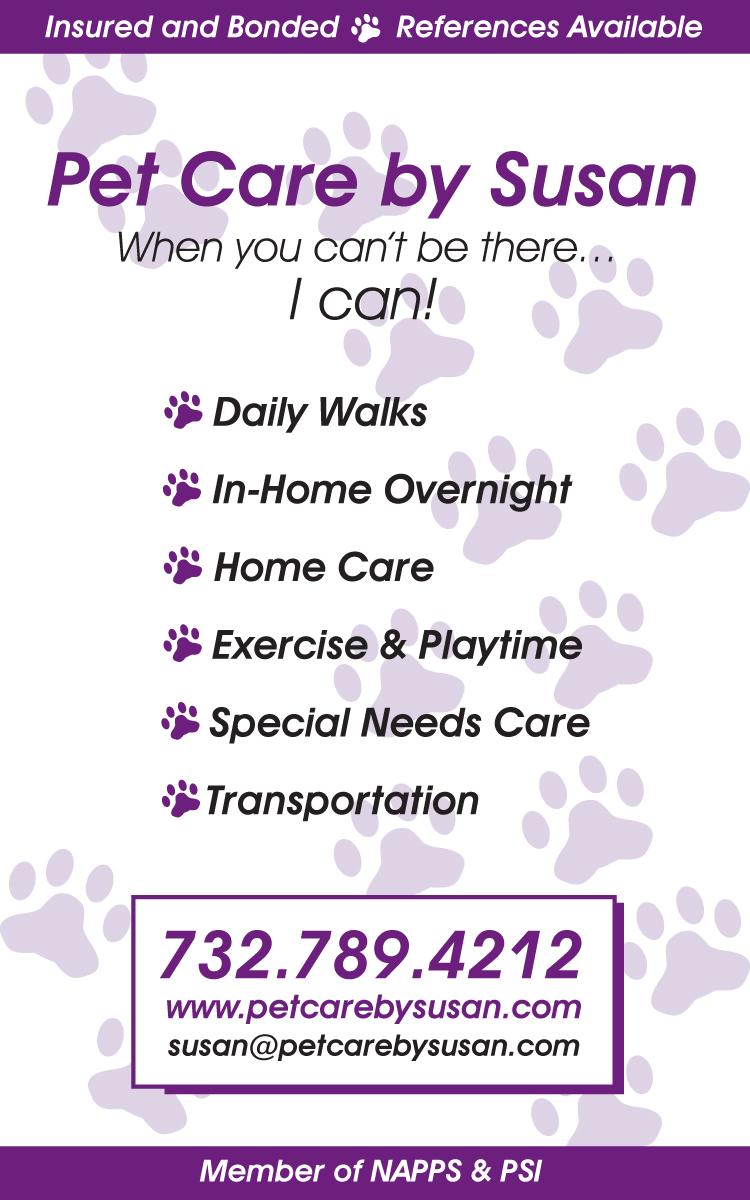 Pet Care By Susan